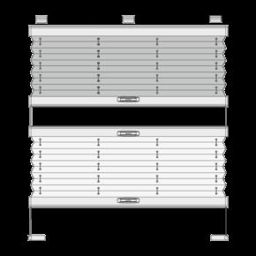 Готовые рулонные шторы плиссе